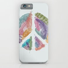 Feathers for Peace (Peace Sign) Slim Case iPhone 6s