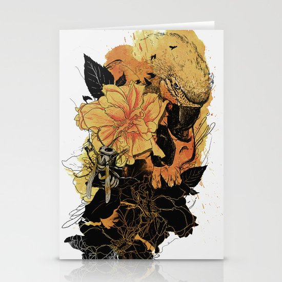 Pollination Fire Stationery Card