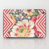 Floral Chevron iPad Case