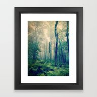 Framed Art Print featuring Walk To The Light by Olivia Joy StClaire