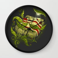 Bed Bugs Wall Clock