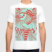Elephant Butterfly Colle… Mens Fitted Tee White SMALL