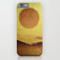 iPhone & iPod Case featuring When the Sun is Going Down by Texnotropio