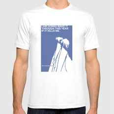 If It Kills Me SMALL White Mens Fitted Tee