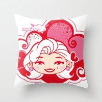DEEVA Color3 Throw Pillow
