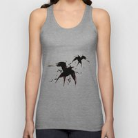 On your fears,  ... swallow them.   Unisex Tank Top