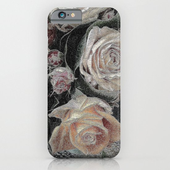 First Frost- Frozen Flowers  iPhone & iPod Case