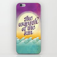 The Warmth of the Sun iPhone & iPod Skin