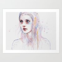 Unsaid Things Art Print