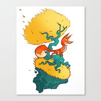 Bad Mountain Brewery Canvas Print