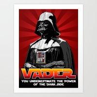 Darth Vader - Star Wars Art Print