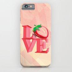 I LOVE STRAWBERRY Slim Case iPhone 6s