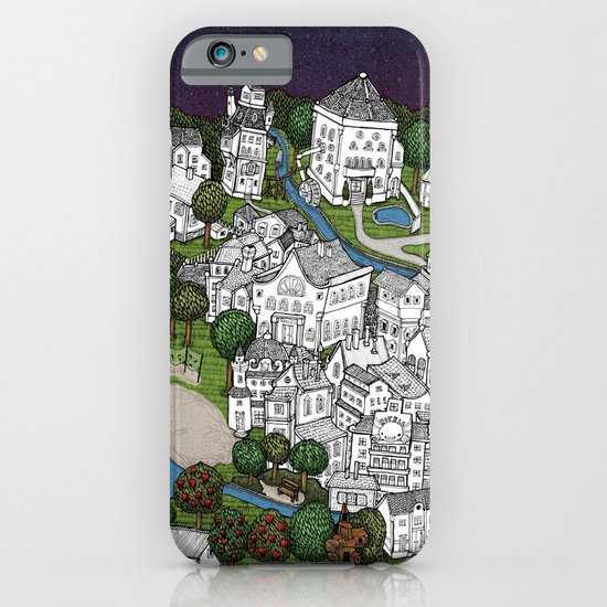 village some color iPhone & iPod Case