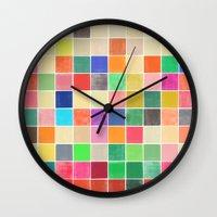 colorquilt 2 Wall Clock
