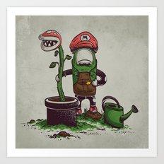Green Thumb Art Print
