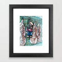 Mise au frais Framed Art Print