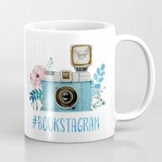 Blue Bookstagram Mug