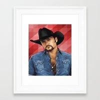 Big Tim Framed Art Print