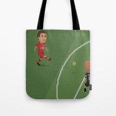 Gerrard vs Olympiakos Tote Bag