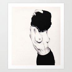 Pull Your Shirt Off Bitch! Art Print