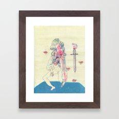 GENDER WARRIOR Framed Art Print