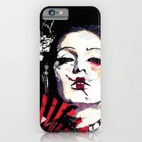 Japanese Creepy Geisha iPhone 6 Slim Case