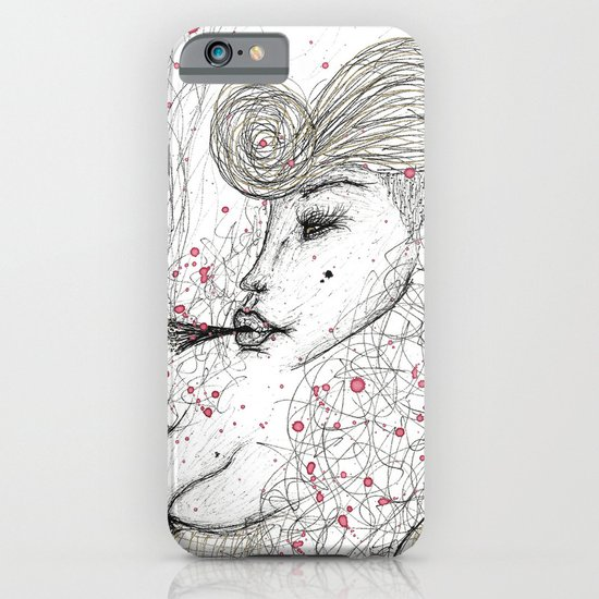 Big Mama Pink iPhone & iPod Case