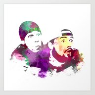 Jay And Silent Bob (Cler… Art Print