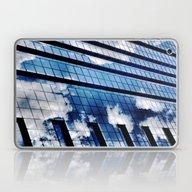 Laptop & iPad Skin featuring Cloud Vanity by Julie Maxwell