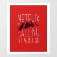 Netflix is calling Art Print