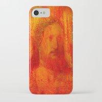 jesus iPhone & iPod Cases featuring Jesus by Ganech joe