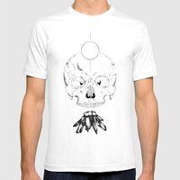 Geoffry Mens Fitted Tee White SMALL