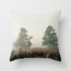 fog.  Throw Pillow