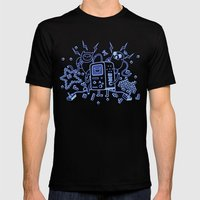 BMO Mens Fitted Tee Black SMALL