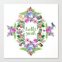 Hellz Yeah Canvas Print