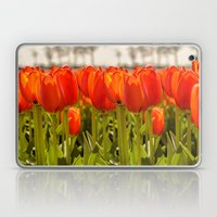 Tulips Standing Tall Laptop & iPad Skin
