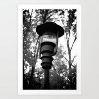Lamp Art Print