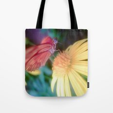 hungry butterfly Tote Bag
