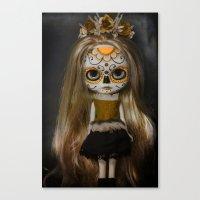 Blythe Catrina Canvas Print