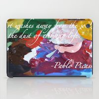 Paint like Picasso. iPad Case