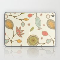 Mehndi Flower Laptop & iPad Skin