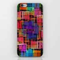 Shapes#6 iPhone & iPod Skin