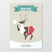 Happy New Year - A New S… Canvas Print