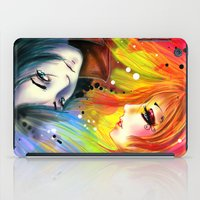 RAINBOW AND NIGHT iPad Case