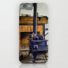 Wood Stove (Painted) iPhone 6 Slim Case