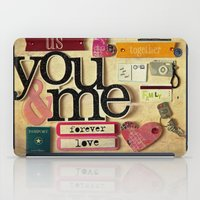 Collage Love - You & Me iPad Case