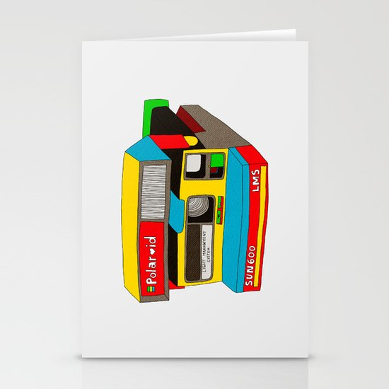 Captures Great Moments (color toy) Stationery Card