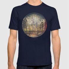 Fernweh Vol 7 Mens Fitted Tee Navy SMALL