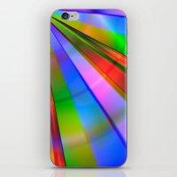Rainbow Point iPhone & iPod Skin