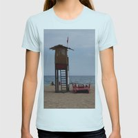 Salvataggio Womens Fitted Tee Light Blue SMALL